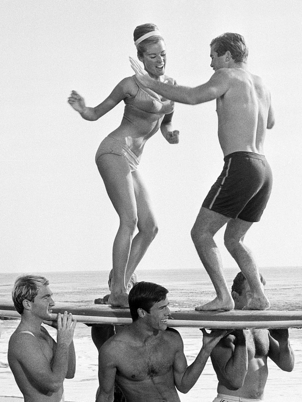 Annette Funicello Beach Culture