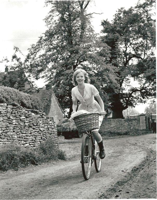 Hayley Mills bicycle