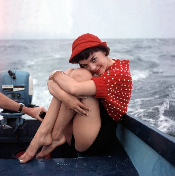 1938 natalie wood young boat