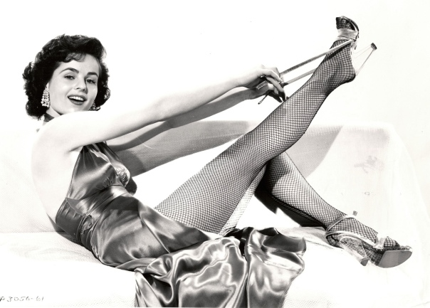 1930 Mary Murphy fishnets