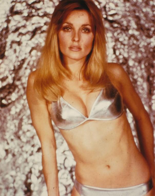 Sharomn Tate silver bikini