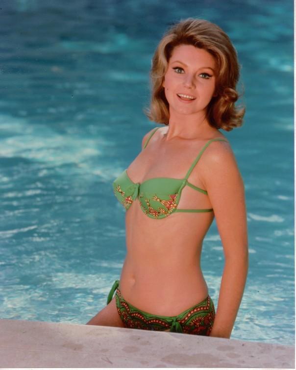 Sylvia koscina green bikini