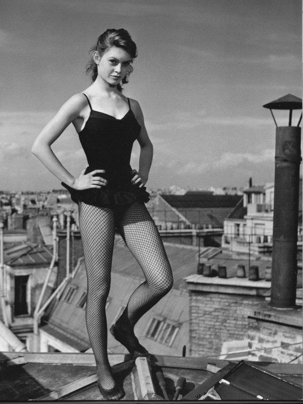 Brigitte Bardot rooftop