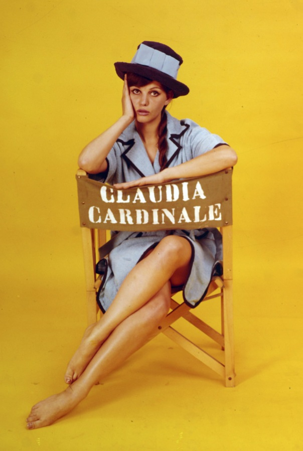Claudidia Cardinale color dir chair