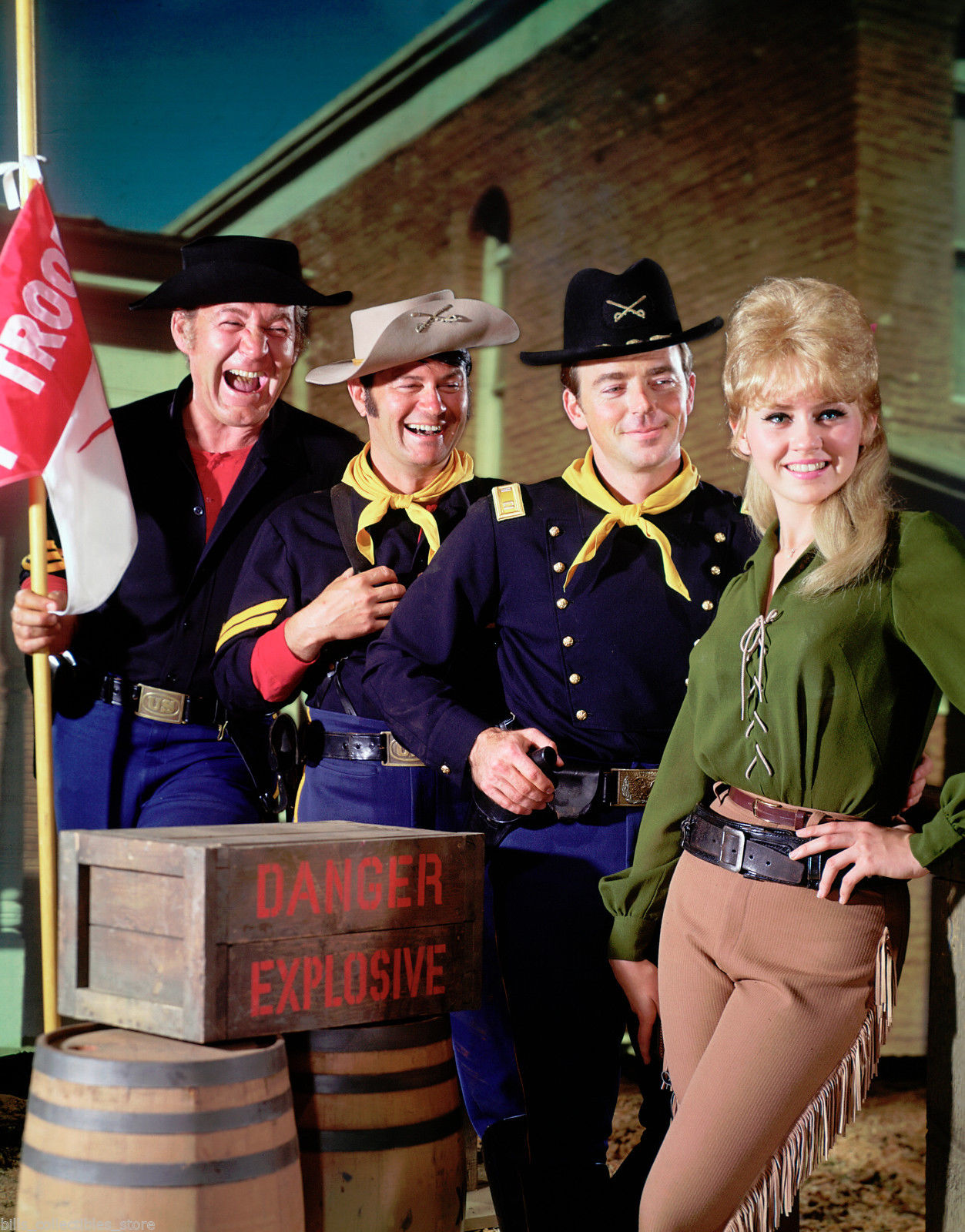 Melody Patterson in �...F Troop Star Melody Patterson
