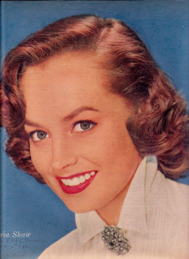 Mouse over image to zoom Have one to sell? Sell now Details about  Victoria Shaw -- beautiful 1960 color rotogravure clipping...smiling close-up