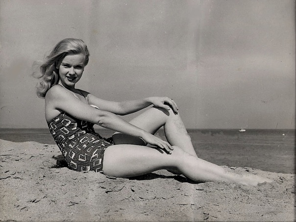 Anne Francis swimsuit