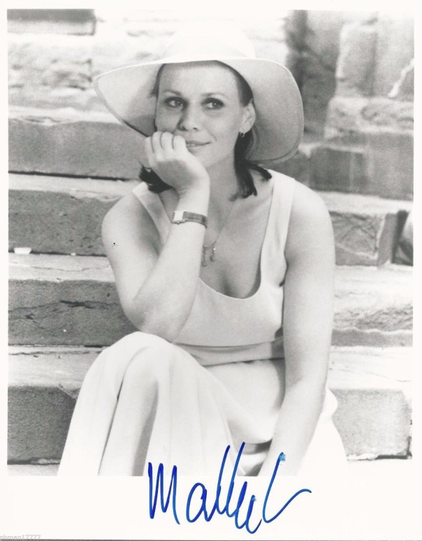 "Martha Keller Autographed 8""- X 10"" B_W Photo"