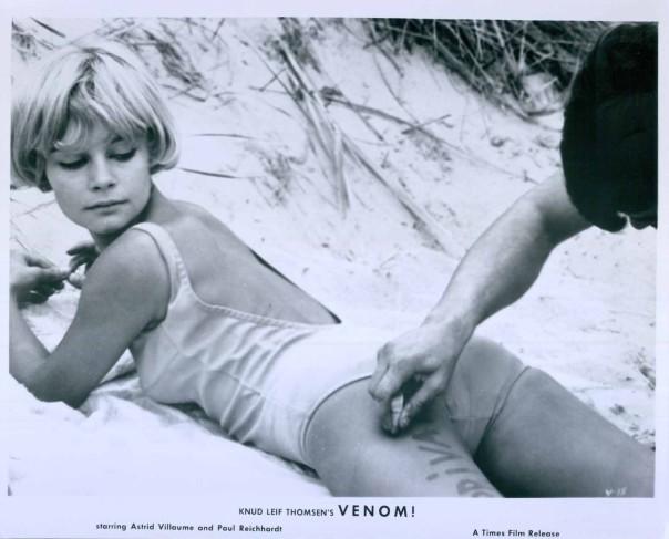 Sisse Reingaard VENOM Sexy Body Art Film Still Photo