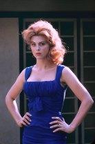 Tina Louise blue dress