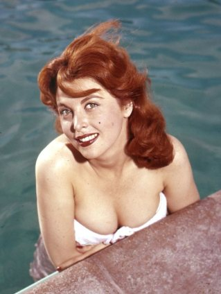 Tina Louise pool