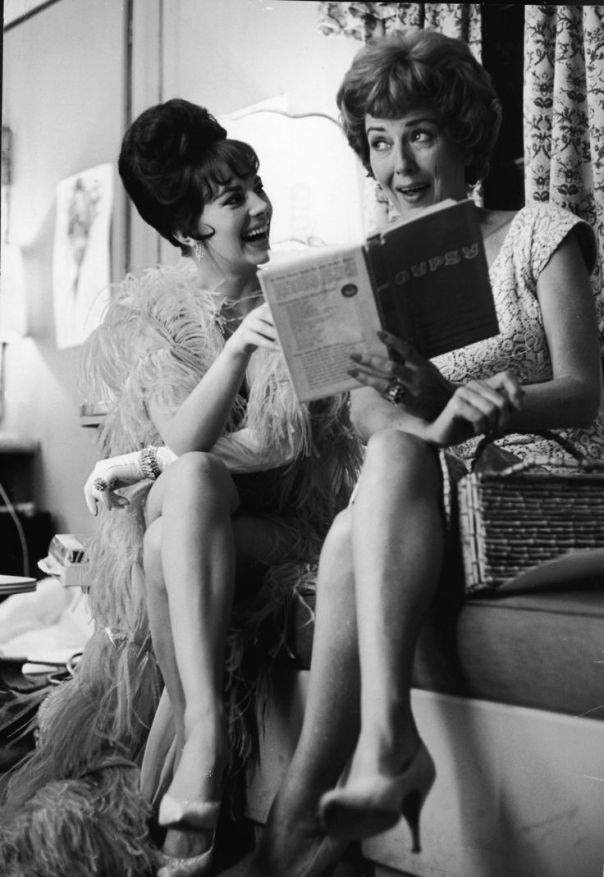 1938 Natalie Wood and Gypsy Rose Lee