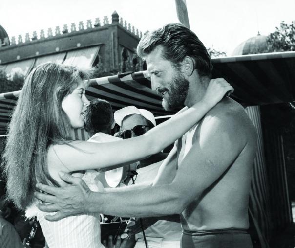 Brigitte Bardot with Kirk Douglas-1