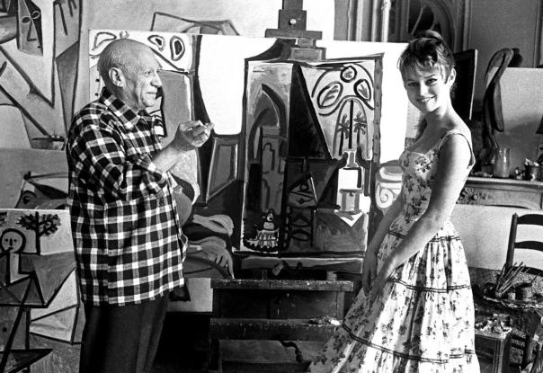 Bardot And Picasso