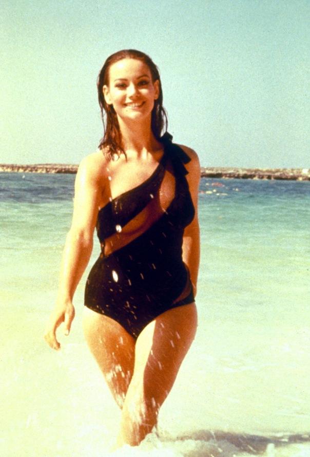 Claudine Auger beachB