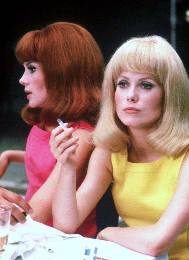 Françoise Dorléac et Catherine Deneuve wigs