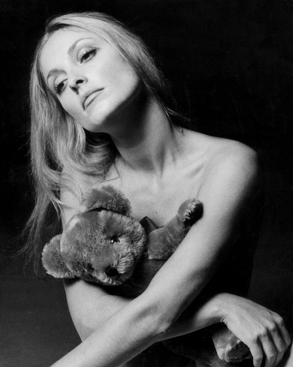 Sharon Tate BW bear