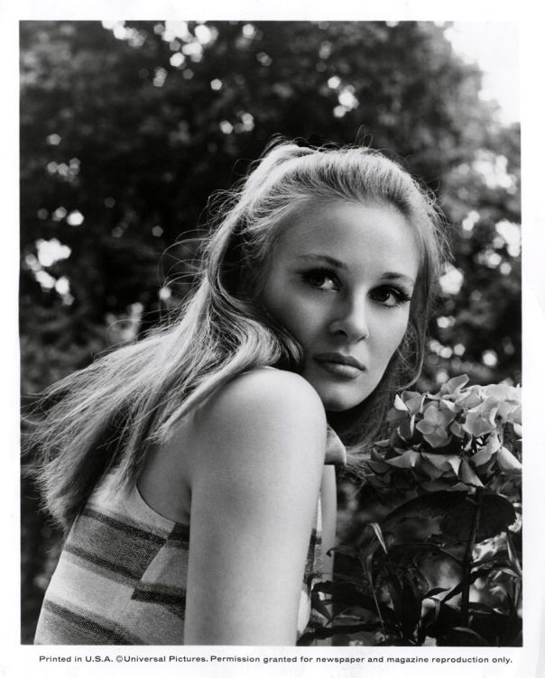Gabriella Licudi Vintage 1967 Photograph Seductive Mod Blonde Beauty The Jokers