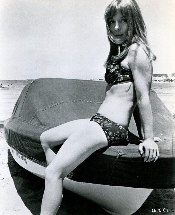 MARIANNE KANTER in HALLUCINATION GENERATION (1967) SWIMSUIT SEXY LEGS