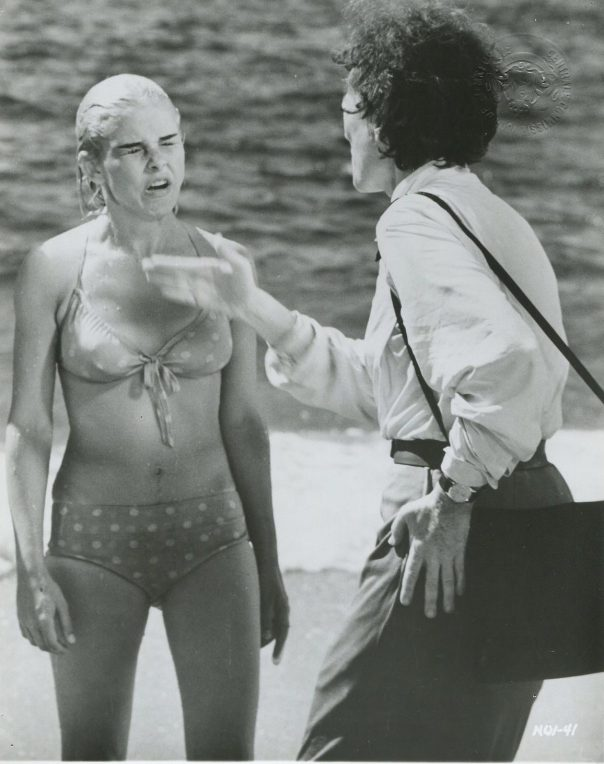 Sue Lyon Night Of The Iguana '64 GRAYSON HALL SUE LYON BIKINI SLAPPING