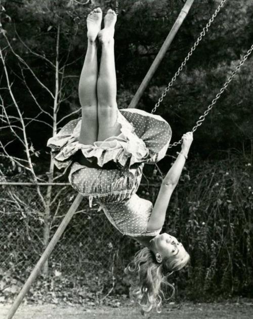 Alexandra Bastedo swing