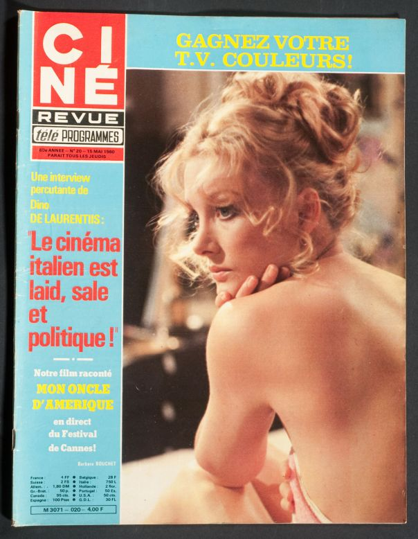 BARBARA BOUCHET COVER 15 MAY 1980