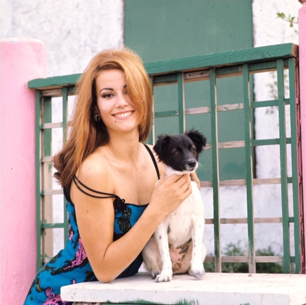 Claudine Auger and Foxy