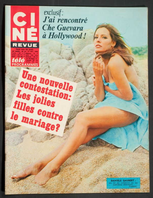 DANIELLE GAUBERT COVER 31 OCTOBER 1968