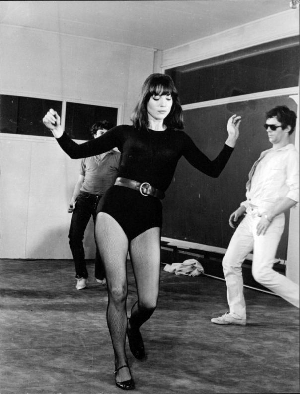 Elsa Martinelli dancing. -