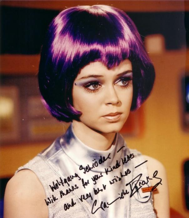 Gabrielle Drake  autograph
