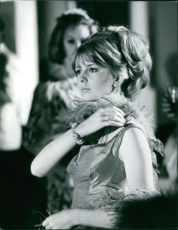 Jane Asher in a scene from her movie The Buttercup Chain. -