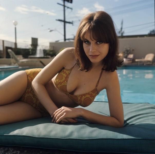 Lana Wood floral bikini