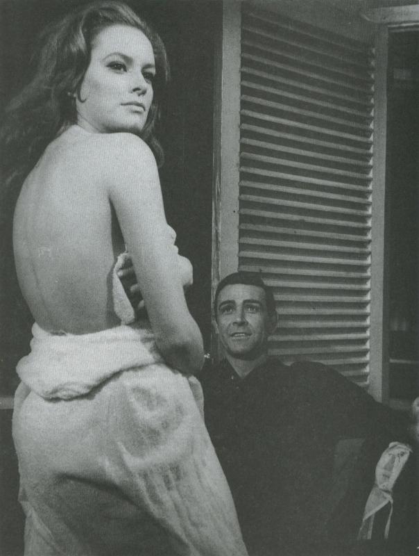 Luciana Paluzzi - 'Thunderball' - 1965bw