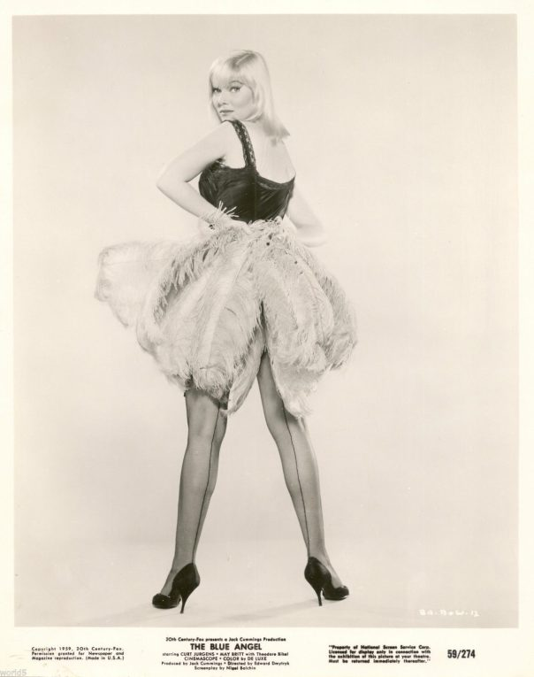 May Britt - The Blue Angel