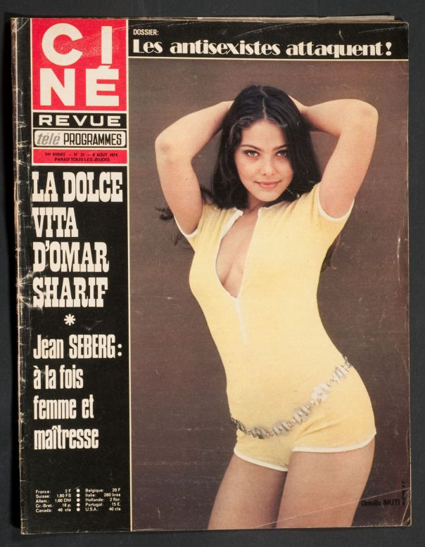 ORNELLA MUTTI COVER 8 AUGUST 1974