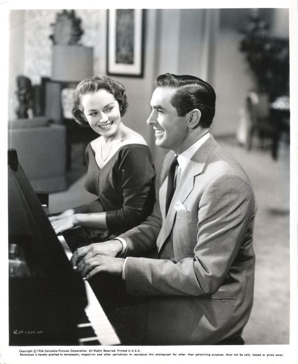 "VICTORIA SHAW & TYRONE POWER in ""The Eddy Duchin Story"" Original Photograph 1956"