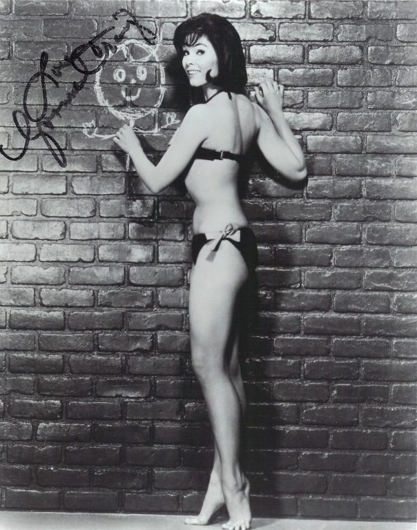 Yvonne Craig Bikini Autographed 8 x 10 Photo Batman Batgirl Mars Needs Women