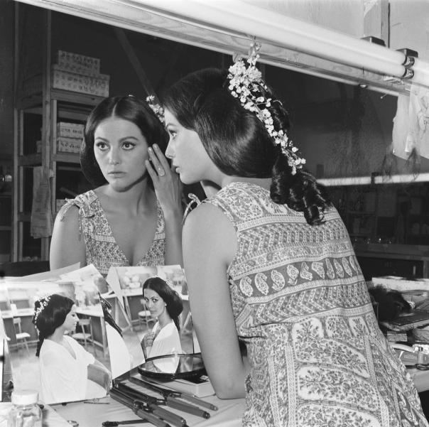 1938 Claudia Cardinale mirror