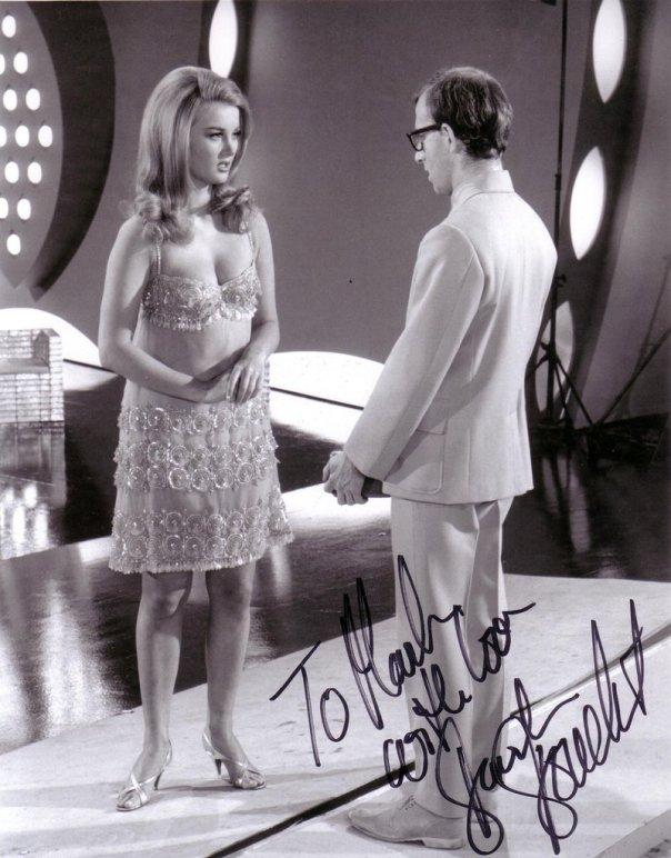 Barbara Bouchet Casino Royale autographed