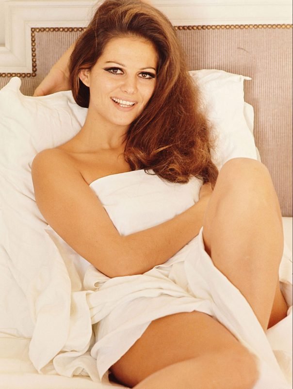 CLAUDIA CARDINALE IN THE 1960S SUPER SEXY BOUDOIR PHOTO