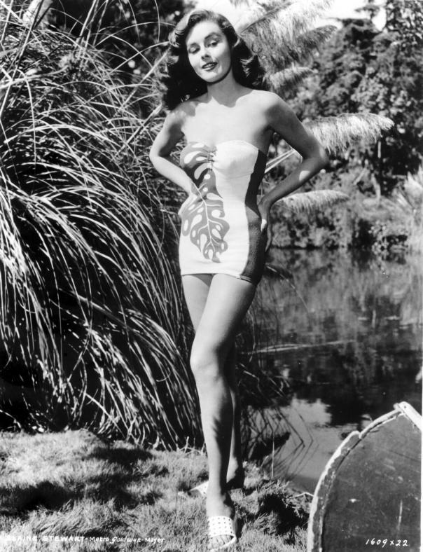 Elaine Stewart jungle