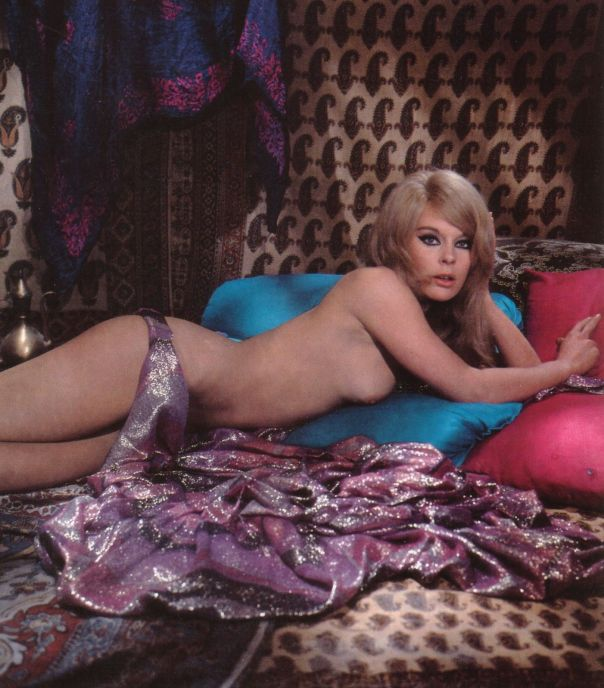 ELKE SOMMER IN THE 1960S EROTIC BEDROOM PHOTO