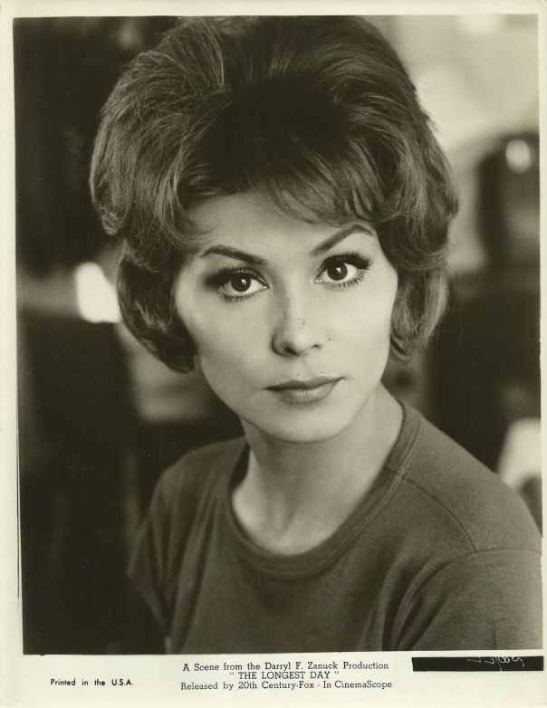 "IRINA DEMICK in ""The Longest Day"" Original Vintage Photo 1966"
