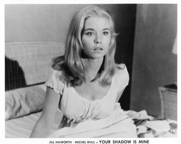 JILL HAWORTH vintage sexy glamour Publicity Press Photo headshot '60s STARLET