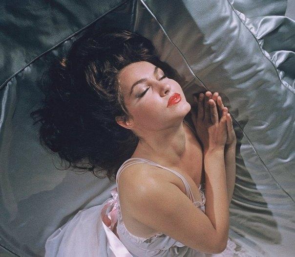 Julie Newmar sleep