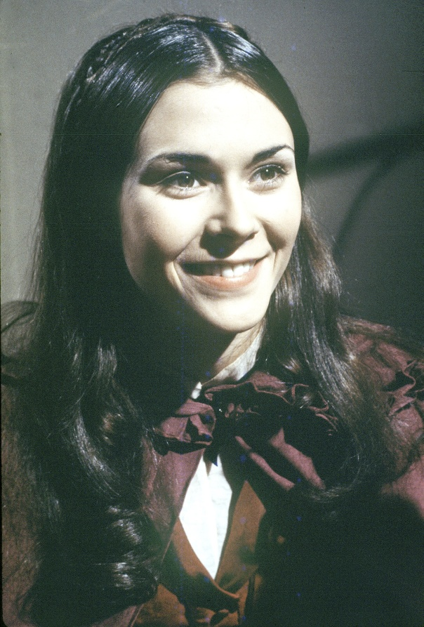 UNITED STATES - JULY 28:  DARK SHADOWS - gallery - 7/28/70, Kate Jackson plays Daphne Harridge, a ghost who has come back to life in the gothic soap opera following the strange happenings of the Collins family and their friends in seaside Collinsport, Maine. ,  (Photo by ABC Photo Archives/ABC via Getty Images)