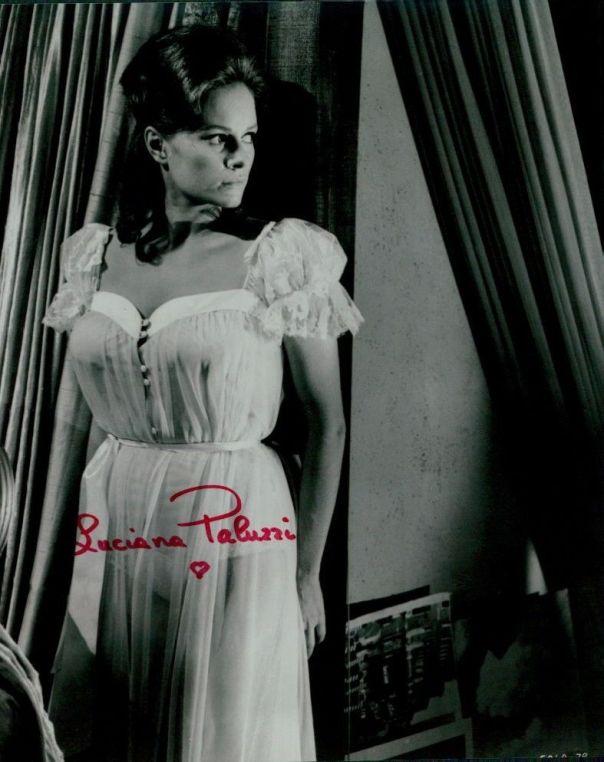 Luciana Paluzzi autographed 8x10 Photo COA