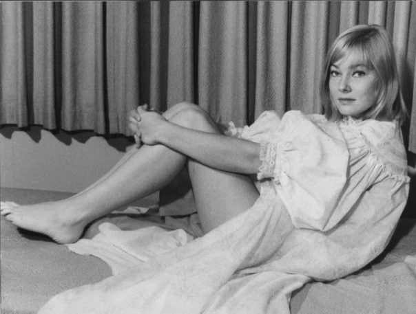 MAY BRITT original sexy glamour LINGERIE Publicity Press Photo '60s STA
