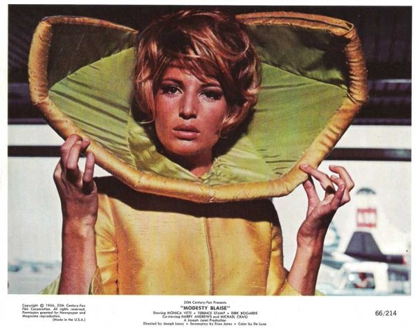 "MONICA VITTI in ""Modesty Blaise"" Original Vintage Color Photo 1966"