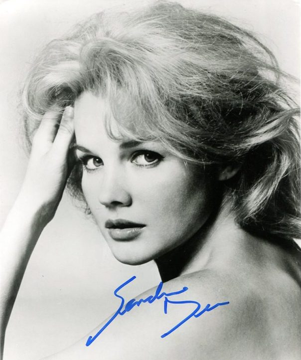 Tuesday Weld autographed bw portrait